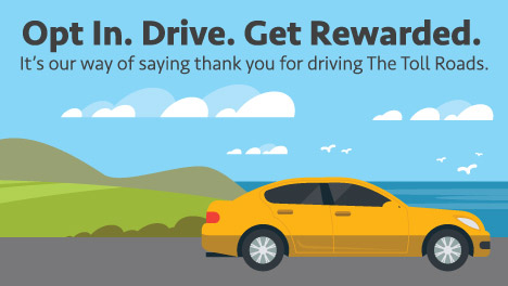 Opt In. Drive. Get Rewarded.